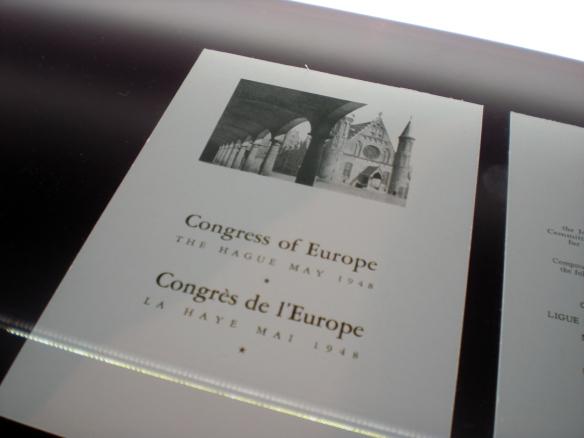 La Haya está presente en Bruselas.